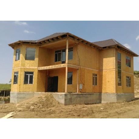 Дом премиум класса 304 м2, потолок 3,0 метра-П14