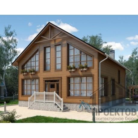 Дом премиум класса 197,2 м2, потолок 2,85 метра-П18