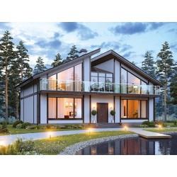 Дом премиум класса 240 м2, потолок 3,0 метра-П13