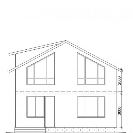 Дом премиум класса 207 м2, потолок 3,0 метра-П11