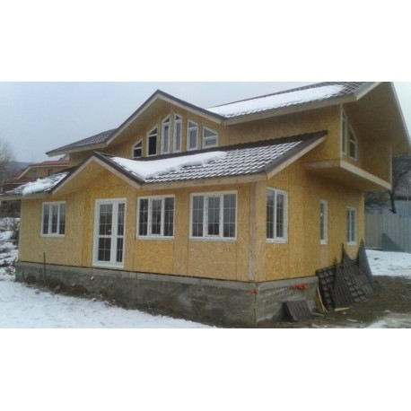 Дом премиум класса 161 м2, потолок 3,0 метра-П10