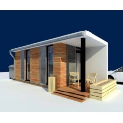 Модульный дом 23,6 м2, потолок 2,85 метра-М2