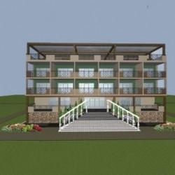Индивидуальное строительство гостиниц из SIP панелей
