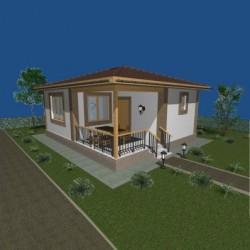 Каркасное строительство домов отдыха из СИП панелей