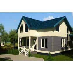 Каркасный дом из SIP панелей общей площадью 200 м2