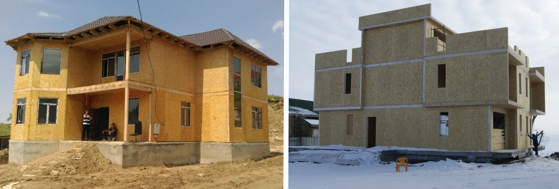 В Алматы строительство домов