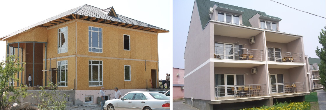 Строительство коттеджей в Алматы