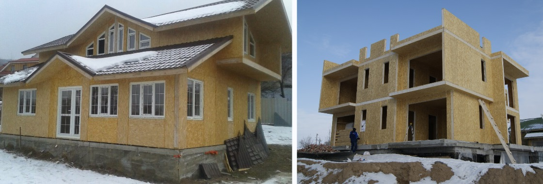 Строительство домов в Казахстане из Сип панелей