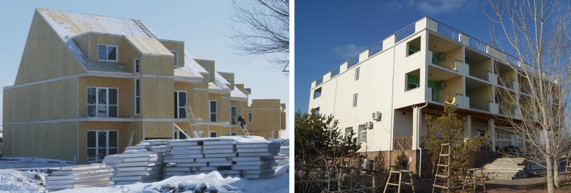 Строительство домов в Казахстане
